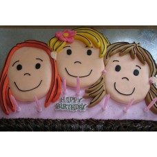 Brother sister cake (2 kg)